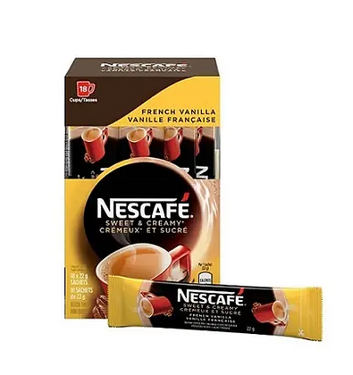 Nescafe sweet&creamy French vanilla -18X22g
