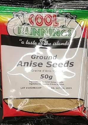 Cool Runnings Anise Seeds 50g
