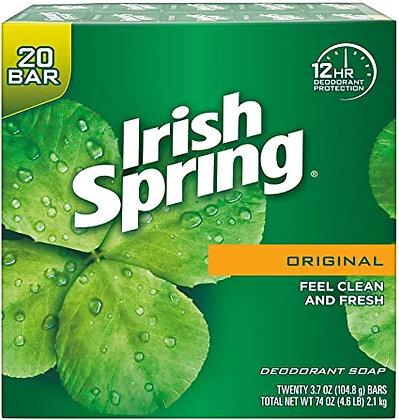 Irish spring deodorant soap - 20bars