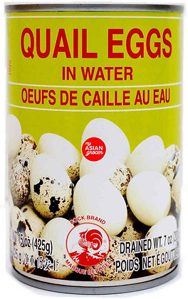 Cock Brand - Quails Egg In Water 425ml