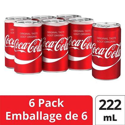 Cocacola Original Taste 222ml x6