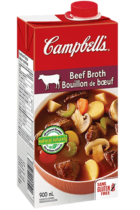 Campbell's - Beef Broth (Fat Free) 900ml
