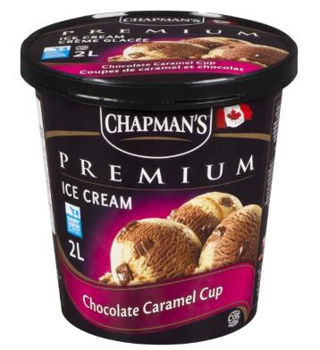 Chapman premium chocolate caramel cup