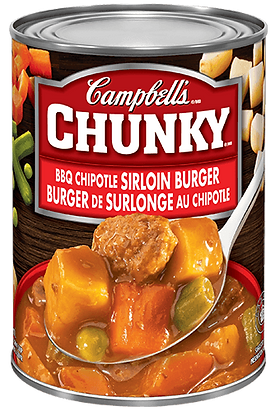 Campbell's Chunky Beef Burger Soup 540ml