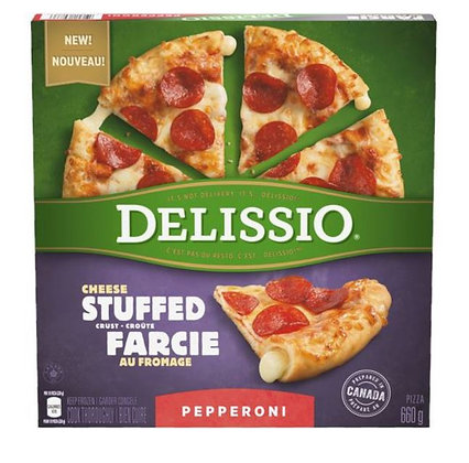 DELISSIO Stuffed Crust Pizza