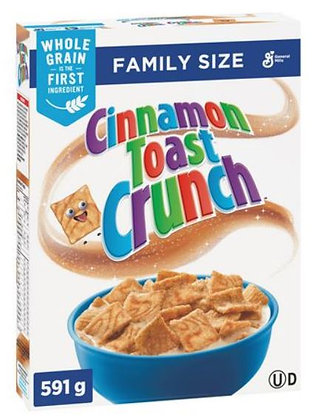 Cinnamon Toast Crunch Cereal, Family Size