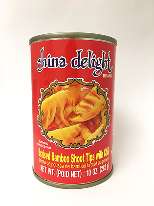 China Delight Braised Bamboo Shoot Tips 283g