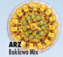 ARZ Baklawa Mix lb