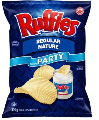 Ruffles Regular Potato Chips 200g