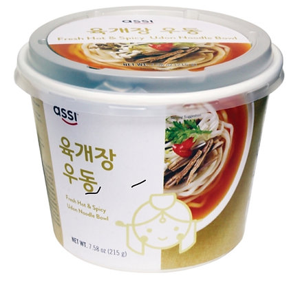 Assi Brand - Hot & Spicy Seafood Udon 225g