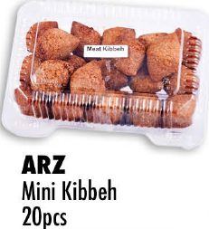 ARZ  Mini Kibbeh 20pcs