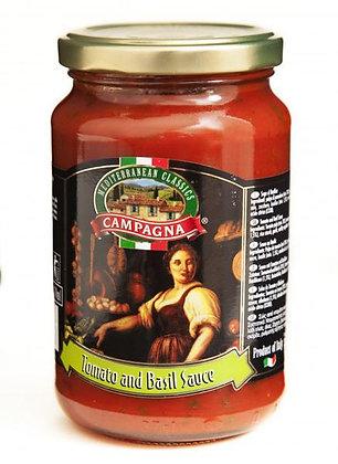 Campagna Tomato And Basil Sauce 370ml