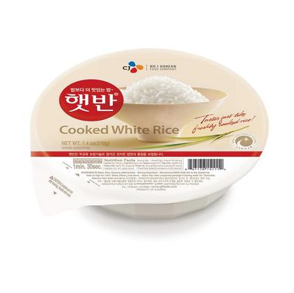 CJ Cooked White Rice 210g
