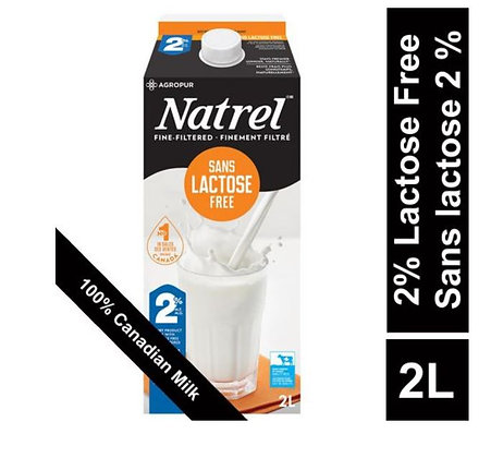 Natrel Lactose Free 2% Dairy Product