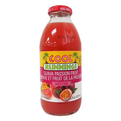 Cool Runnings Guava Passion Fruit Juice 473ml
