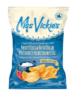Miss vickie's sweet chili&sour cream chips - 200g