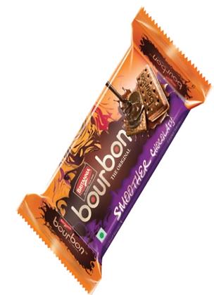 Britannia Chocolate Bourbon Biscuits (97 gm)