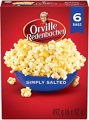 Orville Simply Salted Popcorn 492g