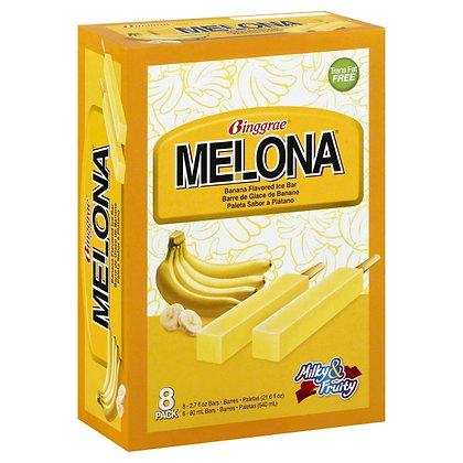Binggrae Banana Flavored Ice Bar 8*80ml