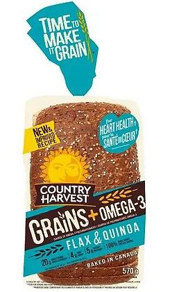 15min-CountryHarvest bread grains omega-3 - 570g