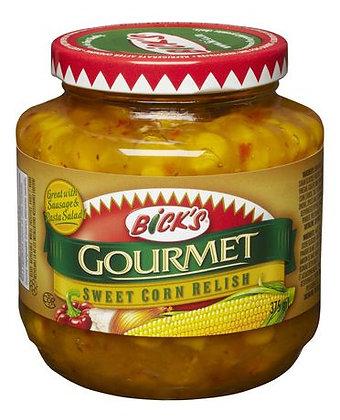 Bick's Gourmet Sweet Corn Redish 375ml