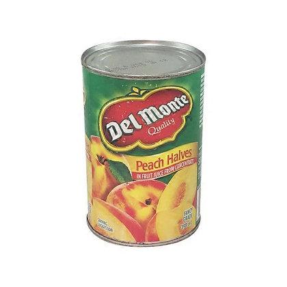 Del Monte Peach Halves In Fruit Juice 398ml