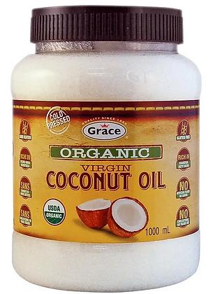 Grace organic coconut oil - 1000ml
