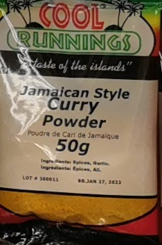 Cool Runnings Curry Powder 50g
