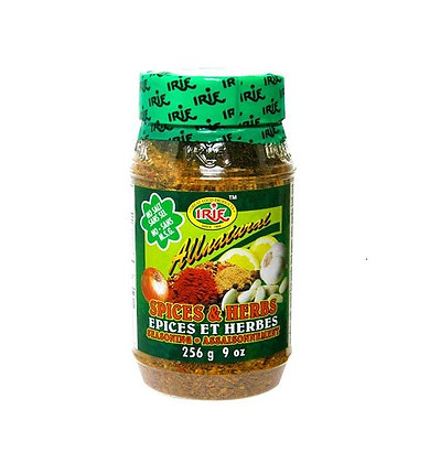 Irie all natural spice&herbs seasoning - 256g
