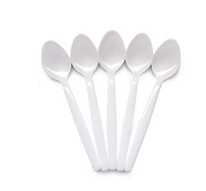 Dispose plastic teaspoons - 48pcs