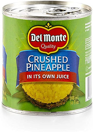 Del Monte Crushed Pineapple 398ml