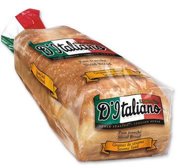 D'ITALIANO Sliced Bread 675g