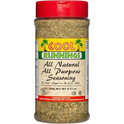 CoolRunning all natural all purpose seasoning - 200g