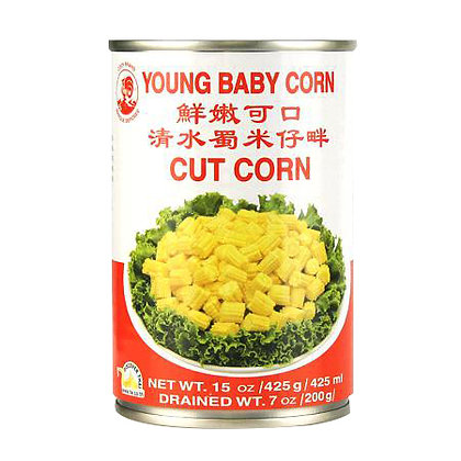 Cock Brand Young Baby Corn 425ml