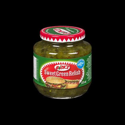 Bick's Sweet Green Redish 375ml