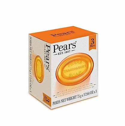 Pears soap (plant oil) - 75g*3
