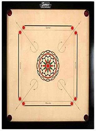 Carrom Board (with pieces, striker & powder)