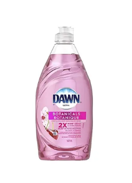 Dawn ultra dishwashing liquid botanicals - 532ml