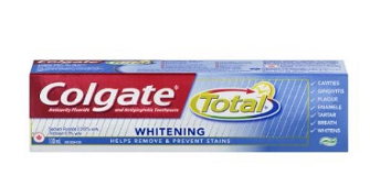 Colgate Total Whitening Toothpaste - 130ml