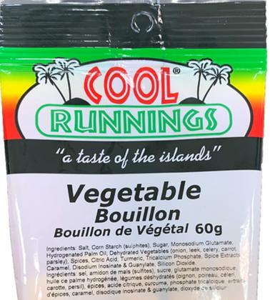Cool Runnings Vegetable Bouillon 60g
