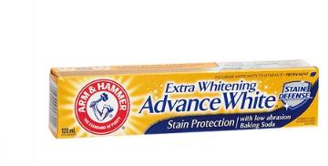 Arm&hammer advance white extra whitening - 120ml