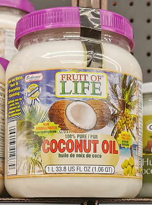 Bedessee Fruit Of Life Coconut Oil 1L