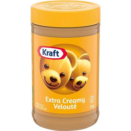 Kraft Peanut Butter extra creamy 1kg