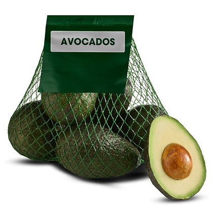 Avocadoes in Bag