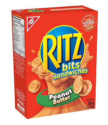 Christie Ritz Bits With Peanut Butter 180g