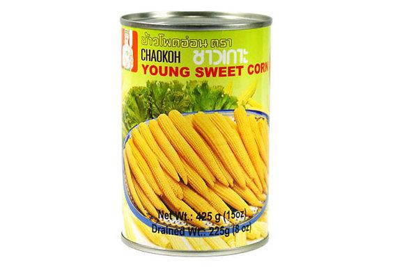 Chaokoh Young Sweet Corn 225g