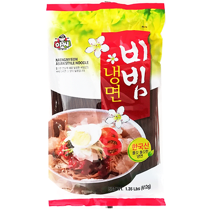 Assi Brand Naengmyeon asian style Noodle 612g