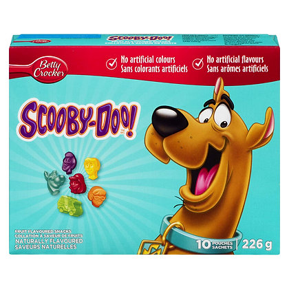 Betty Crocker Scooby Doo Fruit Flavor 226g