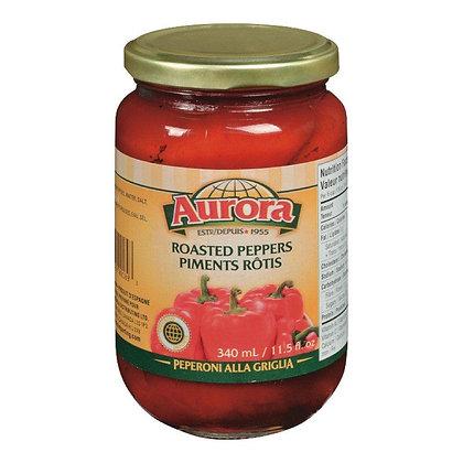 Aurora Roasted Peppers 340ml