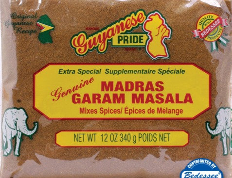 Bedessee Madras Garam Masala 340g